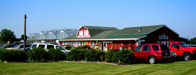 Fresh produce, garden supplies, greenhouse and more at Gro Moore Farms in Henrietta, NY