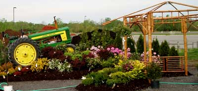 Huge selection of landscaping, plants, and interior and exterior country decor at Gro Moore Farms in Henrietta, NY